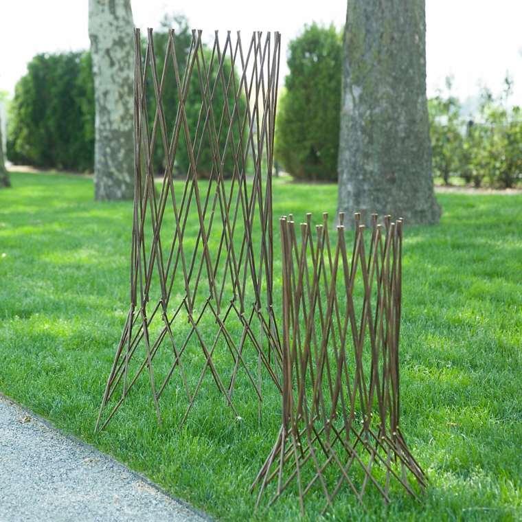 Ideas para el jard n enredaderas y estructuras para for Estructuras de jardin