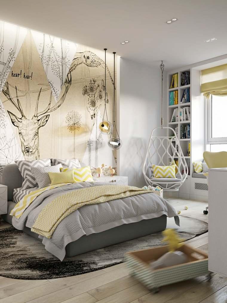 habitacion-cama-grande-adolescentes-opciones-originales