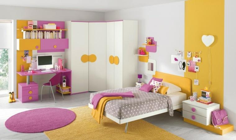 habitaciones-chicas-color-amarillo-rosa-diseno
