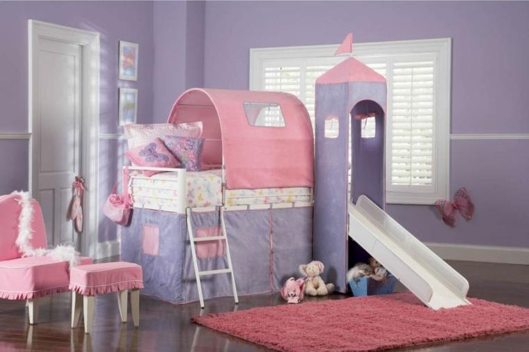 habitaciones infantiles nina palacio princesa - Habitaciones Nias
