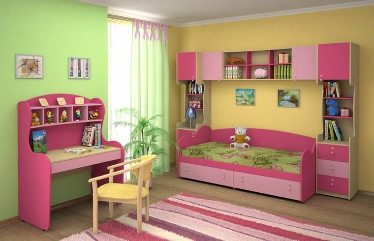 Dormitorios infantiles nia gallery of decoracion de - Dormitorio infantil nina ...