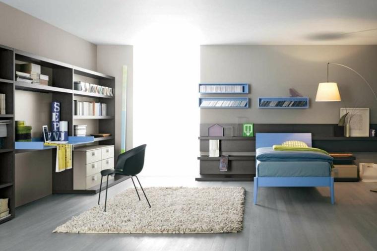 habitaciones-infantiles-para-nina-nino-colores-oscuros