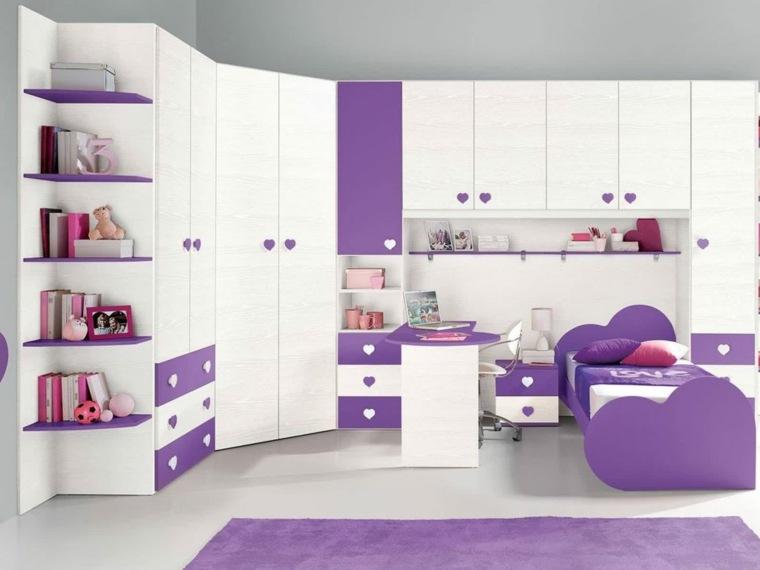 Habitaciones infantiles para ni as y ni os ideas for Dormitorios para 4 ninas