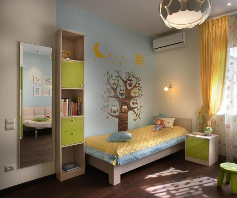 habitaciones infantiles para niñas-ideas-originales