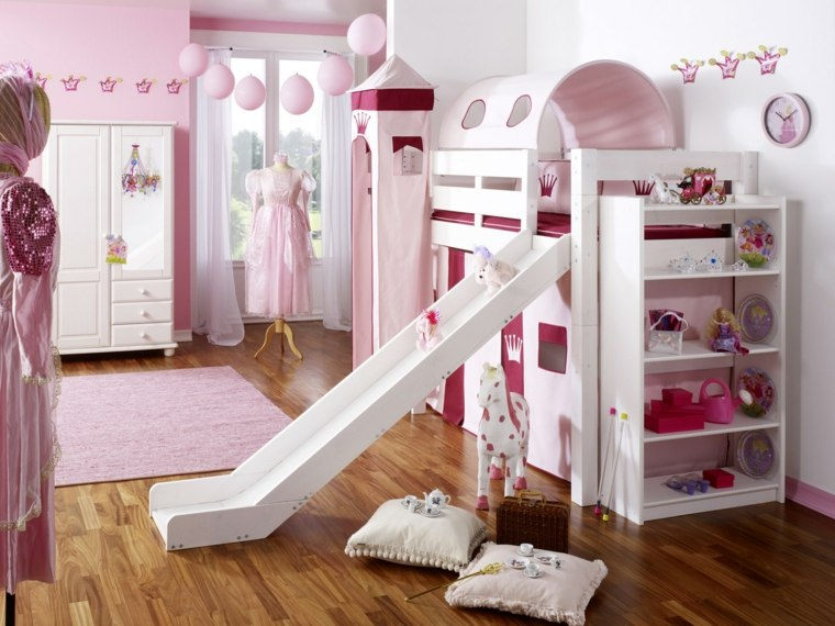 Habitaciones infantiles para ni as y ni os ideas - Muebles para cuarto de nina ...
