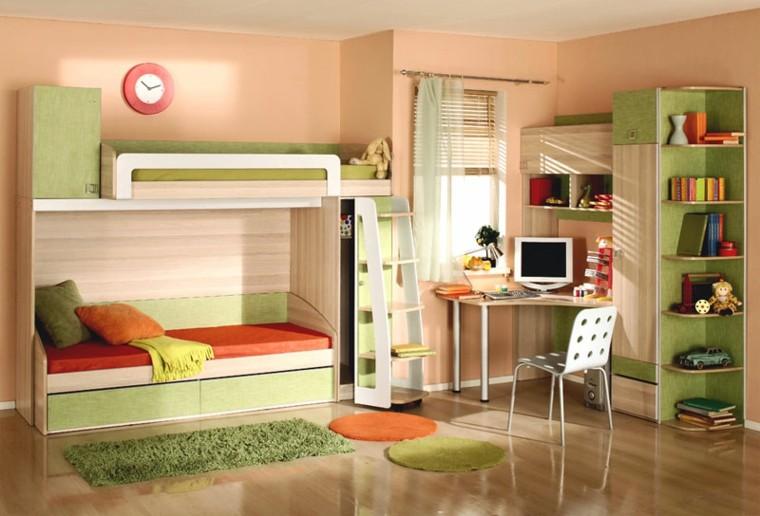 habitaciones-infantiles-para-ninas-ninos-literas