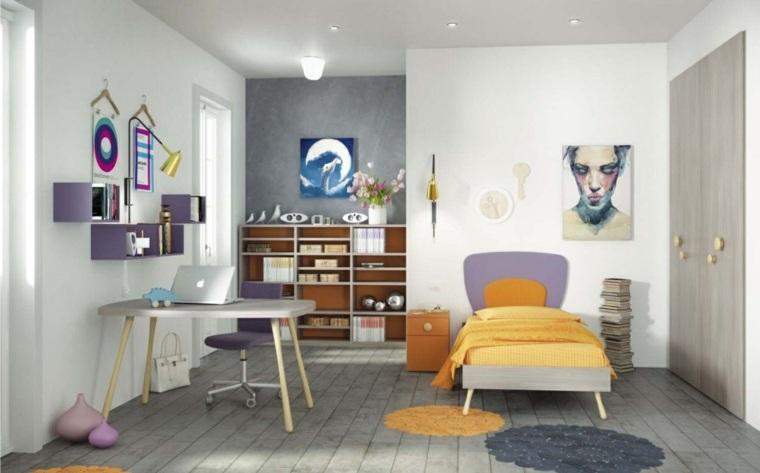 habitaciones infantiles pequeñas-diseno-clasico-estilo
