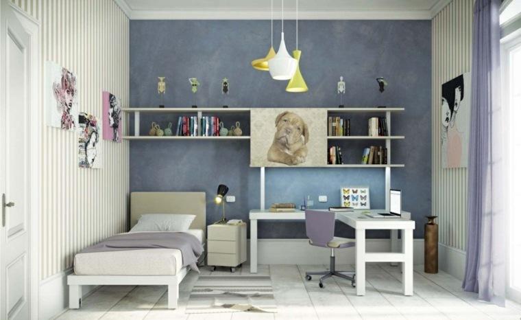 habitaciones infantiles pequeñas-diseno-estilo-elegante