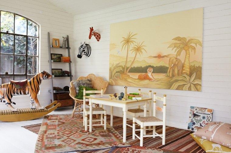 ideas-diseno-habitacion-infantil-decoracion-cuadros