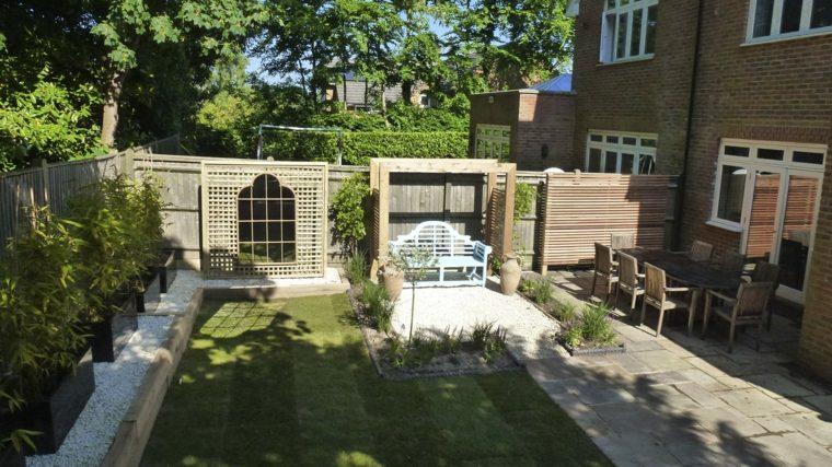 ideas para decorar jardín-espejos-exterior-diseno-espacios-amplios