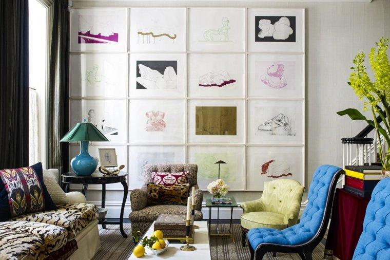 ideas-saoln-moderno-pared-cuadros-estilo-original