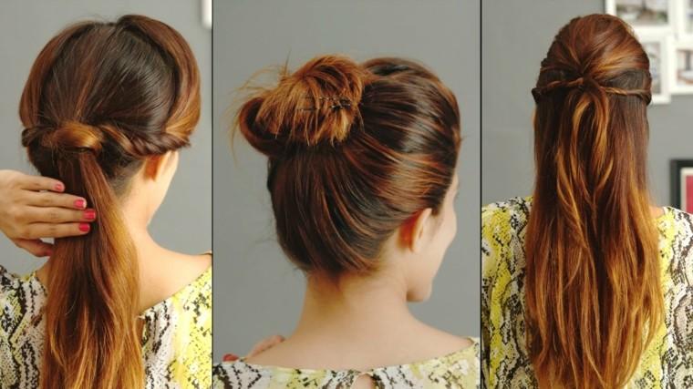 peinados casuales