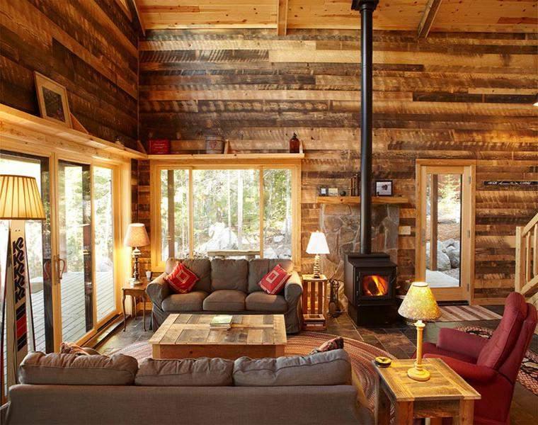 sala estra madera
