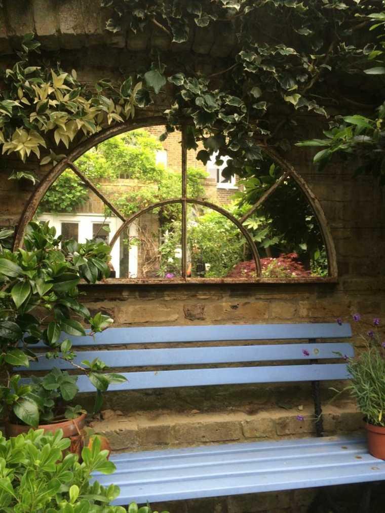Ideas para decorar jardín con espejos más de 40 fotos inspiradoras -
