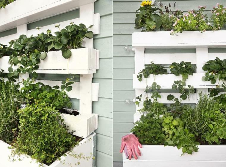 C mo hacer un jard n vertical ideas para exteriores e for Plantaciones verticales