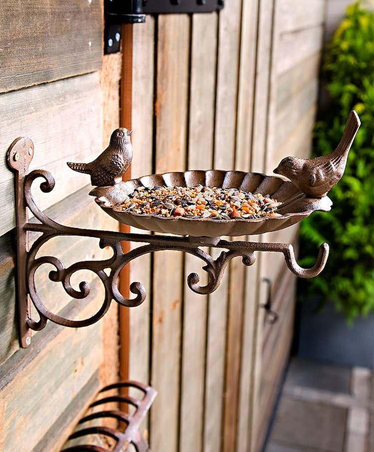 jardines acero corten funcionales-pajaros