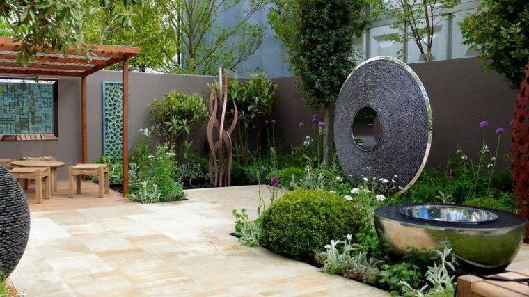 jardines esculturas fuentes-imagenes-diseños