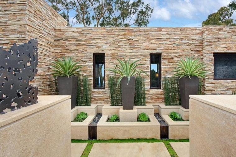 Dise o de exteriores ideas originales para el jard n moderno for Fuentes para jardines pequenos