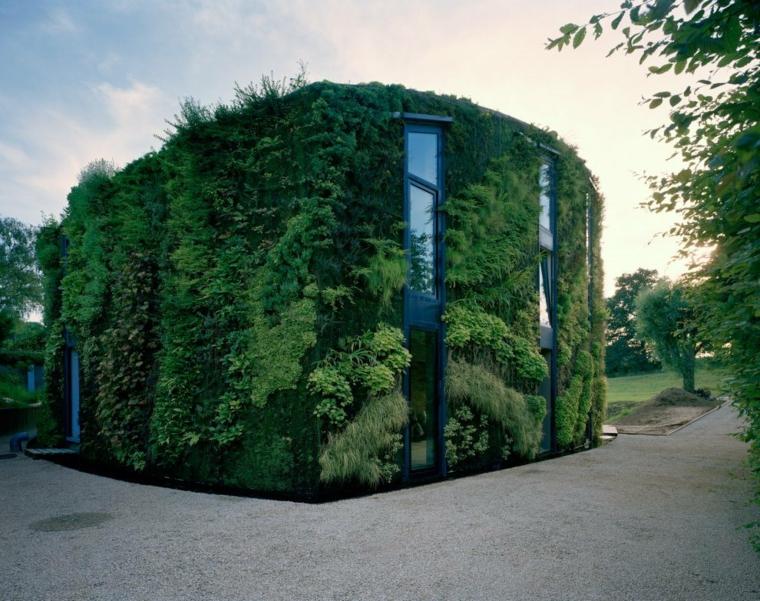 jardines verticales exteriores-cuboertas-casa