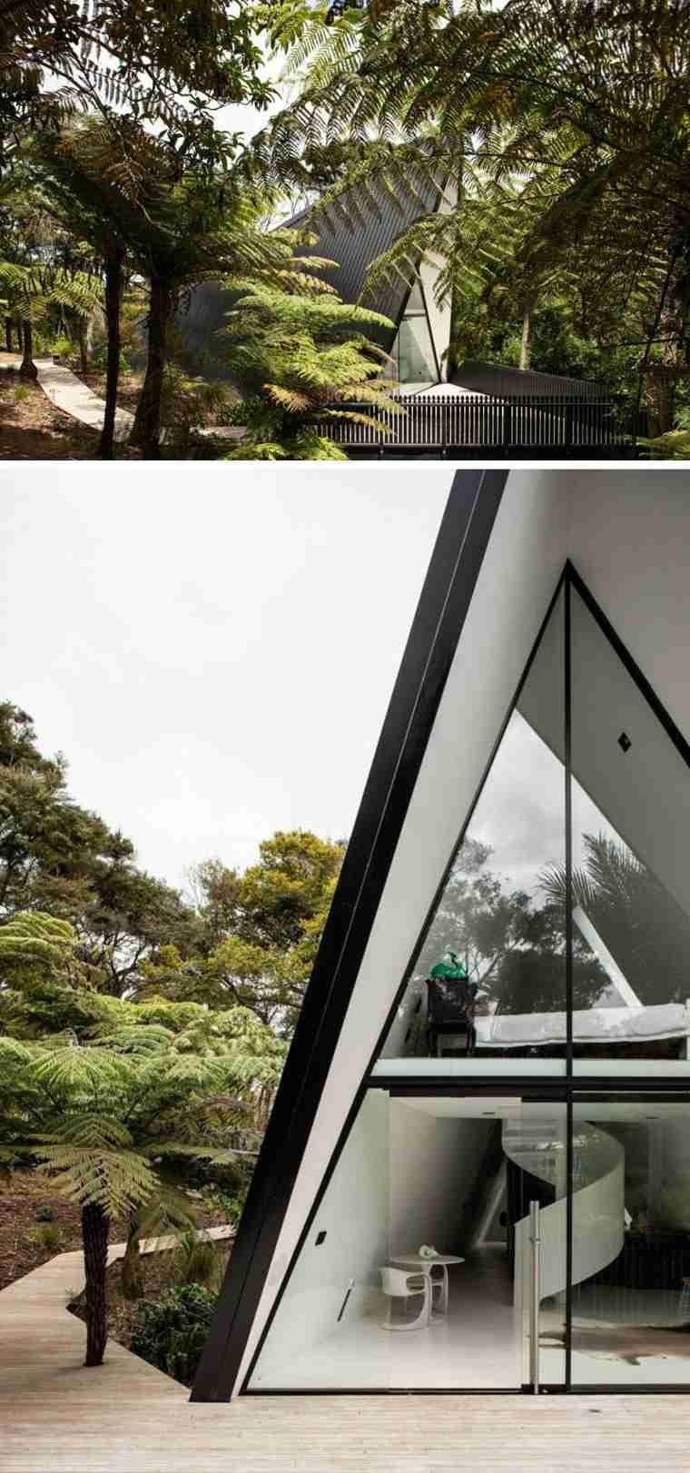 la casa mágica-Nueva-Zelanda-diseno-cabinas-modernas-arquitectura-original