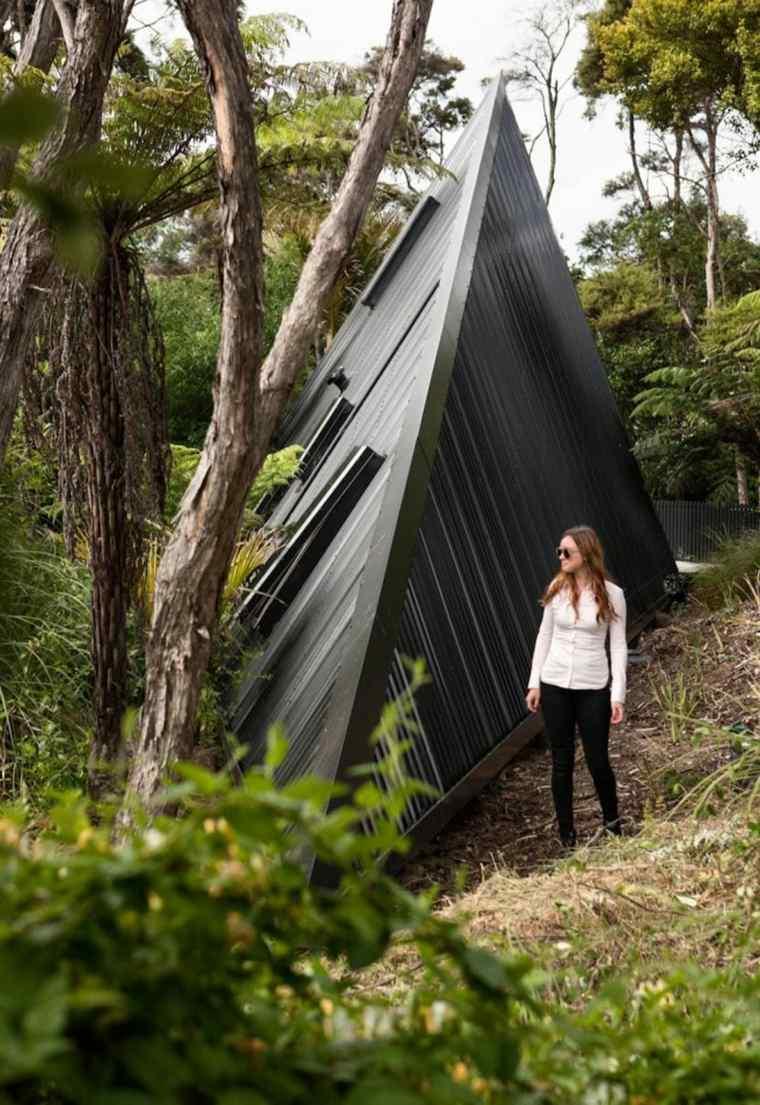 la casa mágica-Nueva-Zelanda-diseno-cabinas-modernas-cabina-bosque