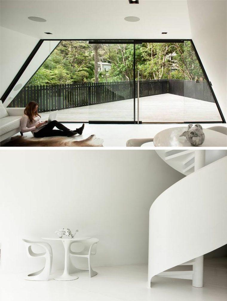 la-casa-magica-Nueva-Zelanda-diseno-cabinas-modernas-interiores-blancos