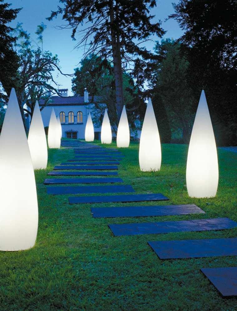 originales ideas de iluminación exterior