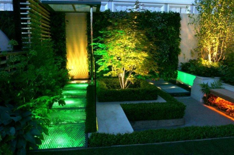 Luces De Jardin Y Estupendas Ideas De Iluminacion Para Exteriores - Iluminacion-para-jardin
