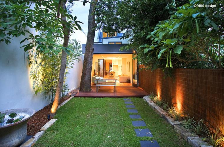 ideas luces jardin