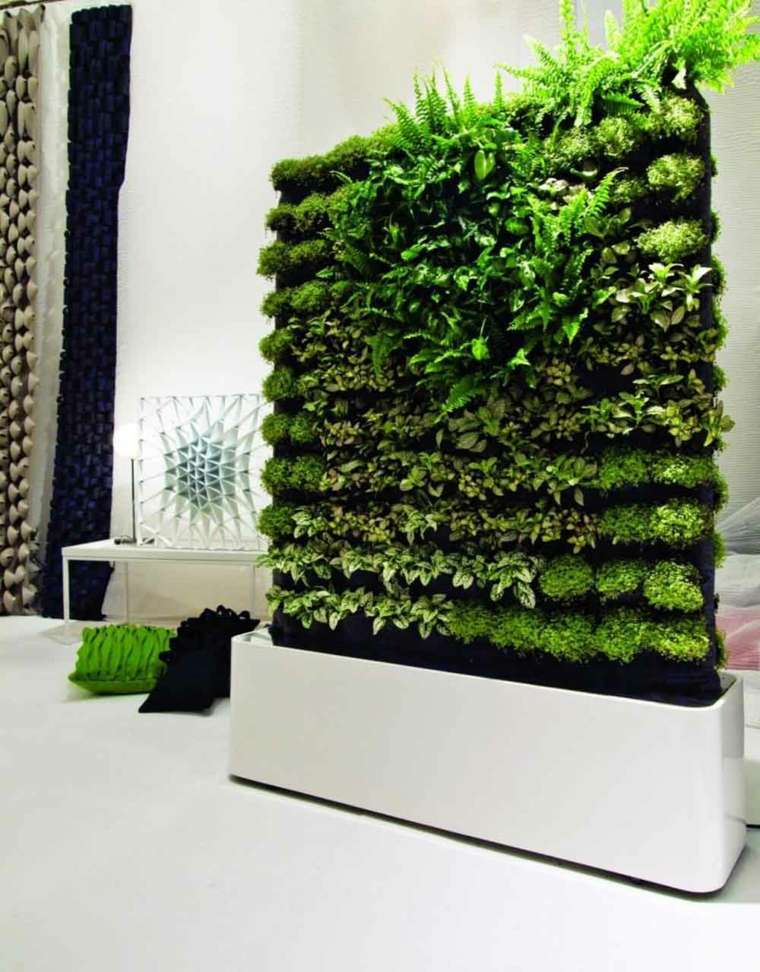 madera-blanca-estructura-jardin-vertical