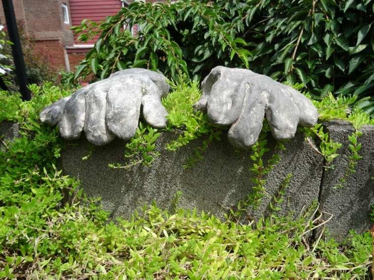manos cemento