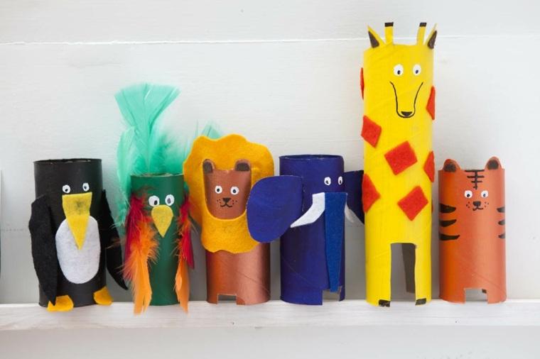 Manualidades con rollo de papel para hacer en casa - Rollos de papel higienico decorados ...