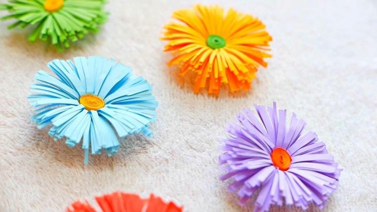manualidades de papel decoraciones