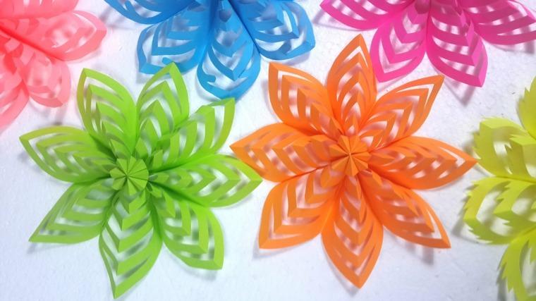 manualidades de papel decorar interior