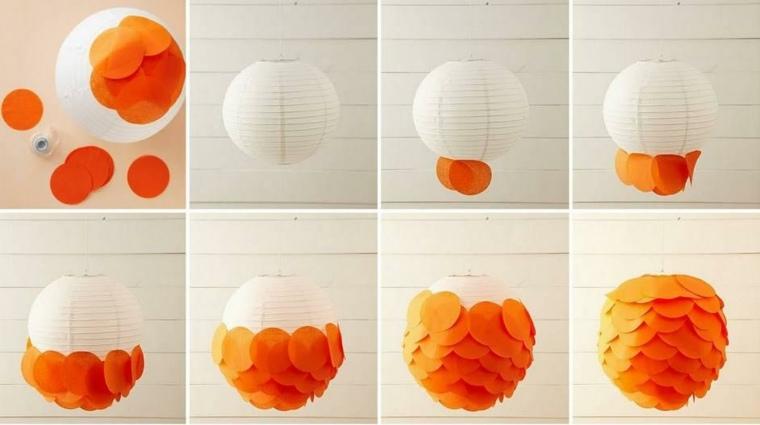 manualidades de papel decorar interiores