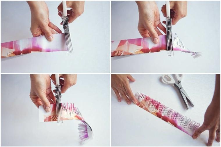 manualidades de papel interior
