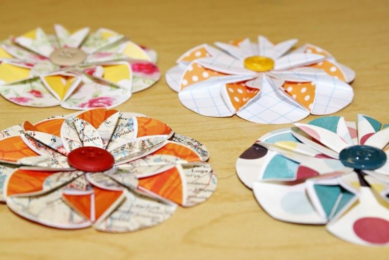 manualidades en papel decorar