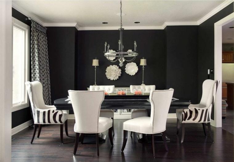 mesas y sillas de comedor-diseno-muebles-blancos