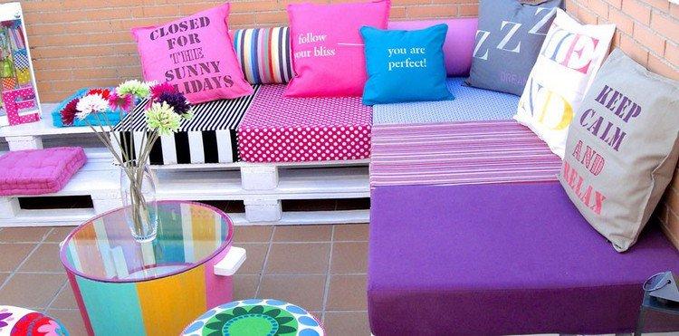 Muebles de jard n baratos 20 ideas de muebles hechos con for Muebles chill out baratos