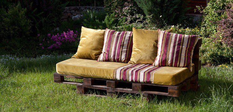 muebles de jardn baratos sofa estilo madera - Muebles De Jardn Baratos