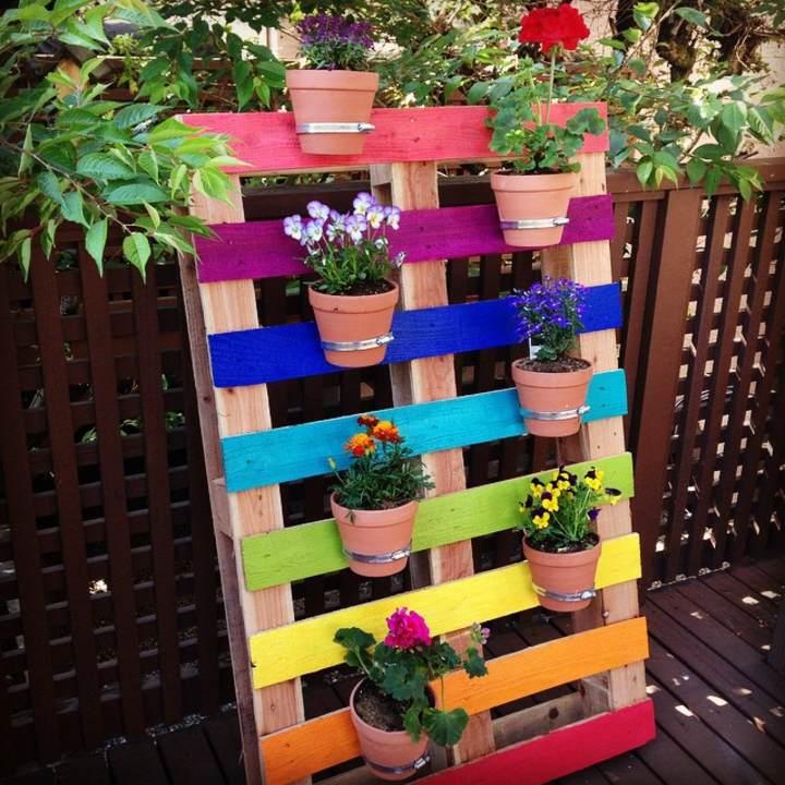 Muebles de palets ideas DIY para plantadores creativos – Eco Hogar ...