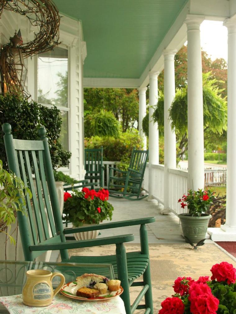 porches de obra modernos y terrazas cubiertas con estilo