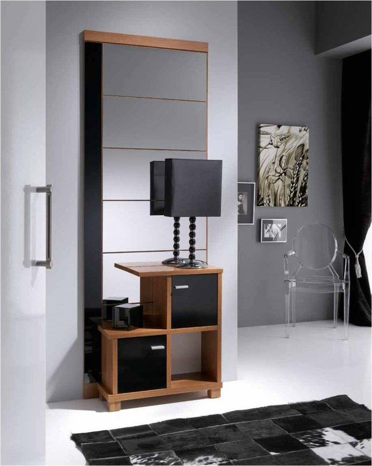 Recibidores modernos y las mejores ideas para decorarlos - Muebles hall modernos ...