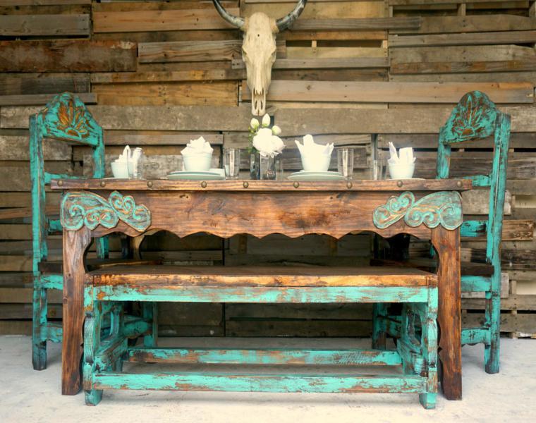 Muebles Rusticos Ideas De Interiorismo Con Un Aire Campestre - Fotos-muebles-rusticos