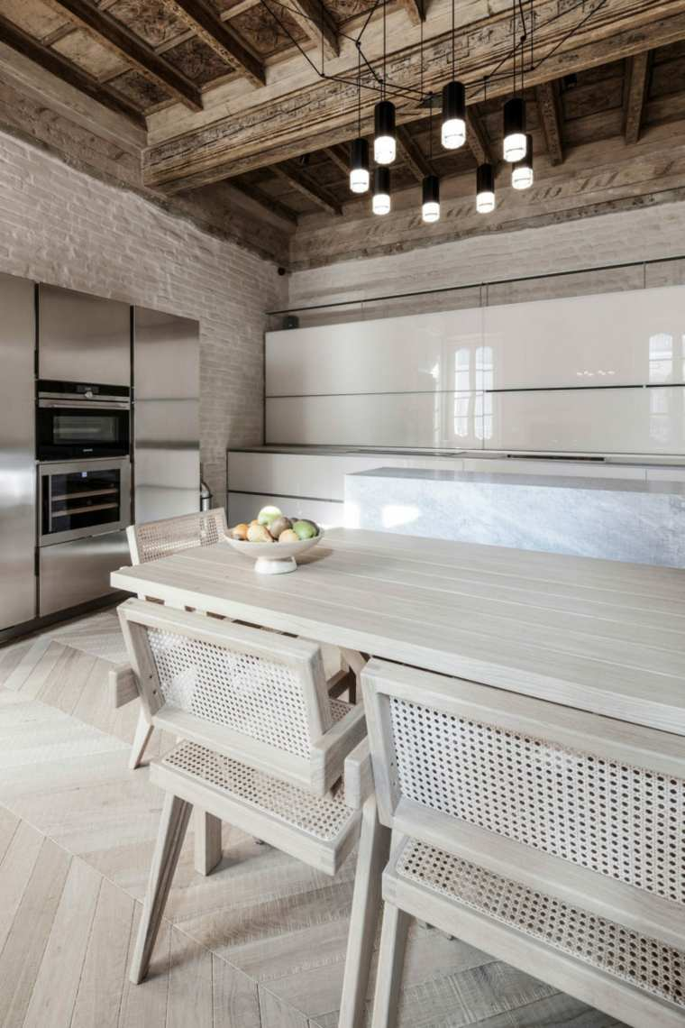 nuevo estilo-viejo-apartamento-cocina