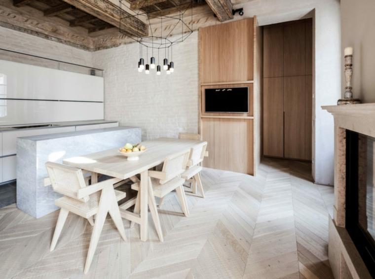 nuevo estilo-viejo-apartamento-combinacion