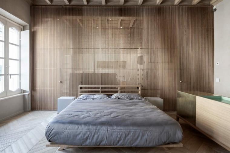 nuevo estilo-viejo-apartamento-madera-pared