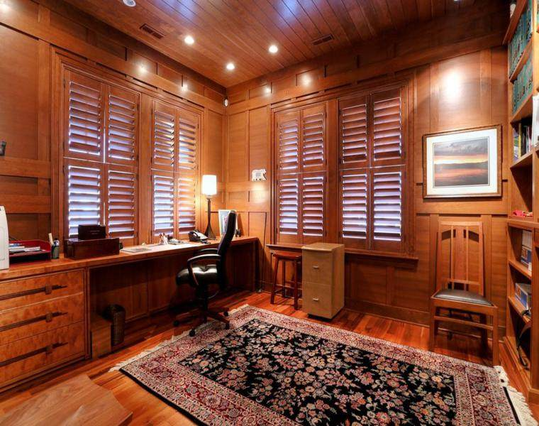 despacho persianas de madera