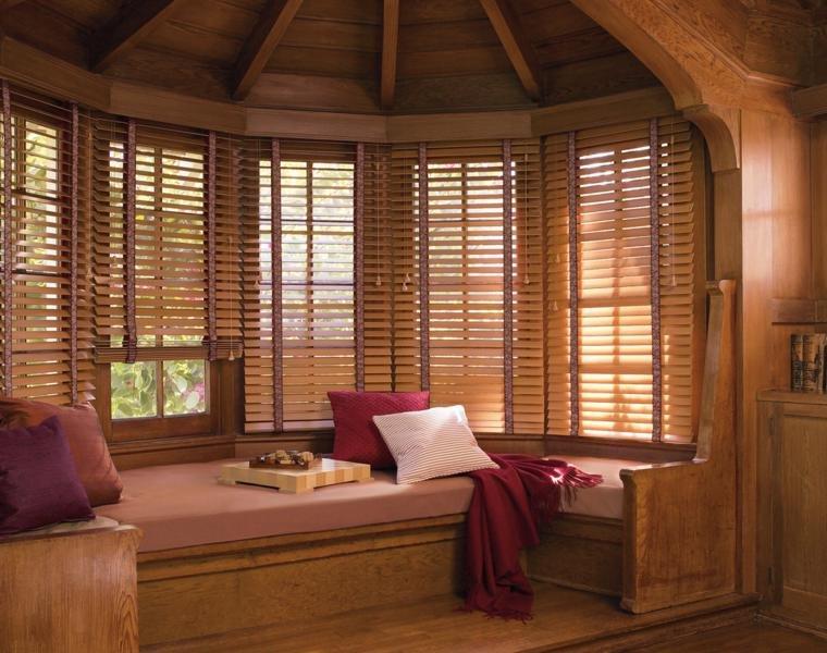 persianas de madera bonitas