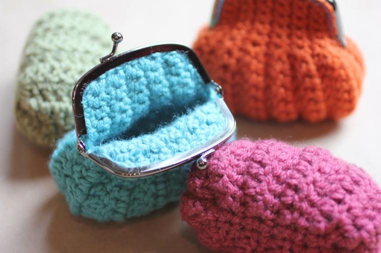 Como Hacer Monederos De Ganchillo En Sencillos Pasos - Monederos-ganchillo